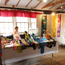 First Scarf Show at River District Arts